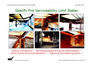 Colour image showing Page 37 from my Overhead Presentation on 'Sustainable Fire Engineering' ... scheduled for this Thursday, 22 September 2011, at the ASFP Ireland Fire Seminar & Workshop ... to be held at the RDS, in Ballsbridge, Dublin. Click to enlarge.