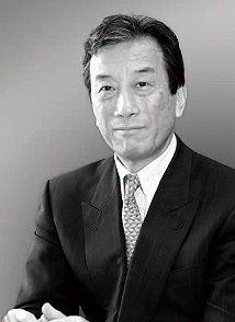 Black and white photograph of Kiyoshi Kurokawa - Chairman of the Japanese Diet's Fukushima Nuclear Accident Independent Investigation Commission (NAIIC) Chairman. He is a Medical Doctor, an Academic Fellow of the National Graduate Institute for Policy Studies, and Former President of the Science Council of Japan. Click to enlarge.