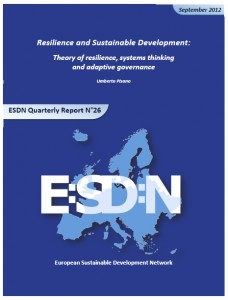 ESDN Quarterly Report Number 26, 2012