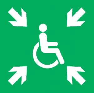 Proposed New Sign for 'Area of Rescue Assistance'