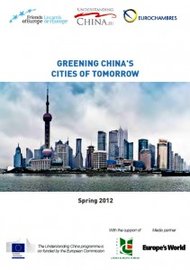 Greening China's Cities of Tomorrow (2012) - Report Cover