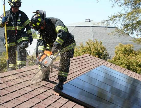 Fire Operations For Photovoltaic Emergencies A Gentle